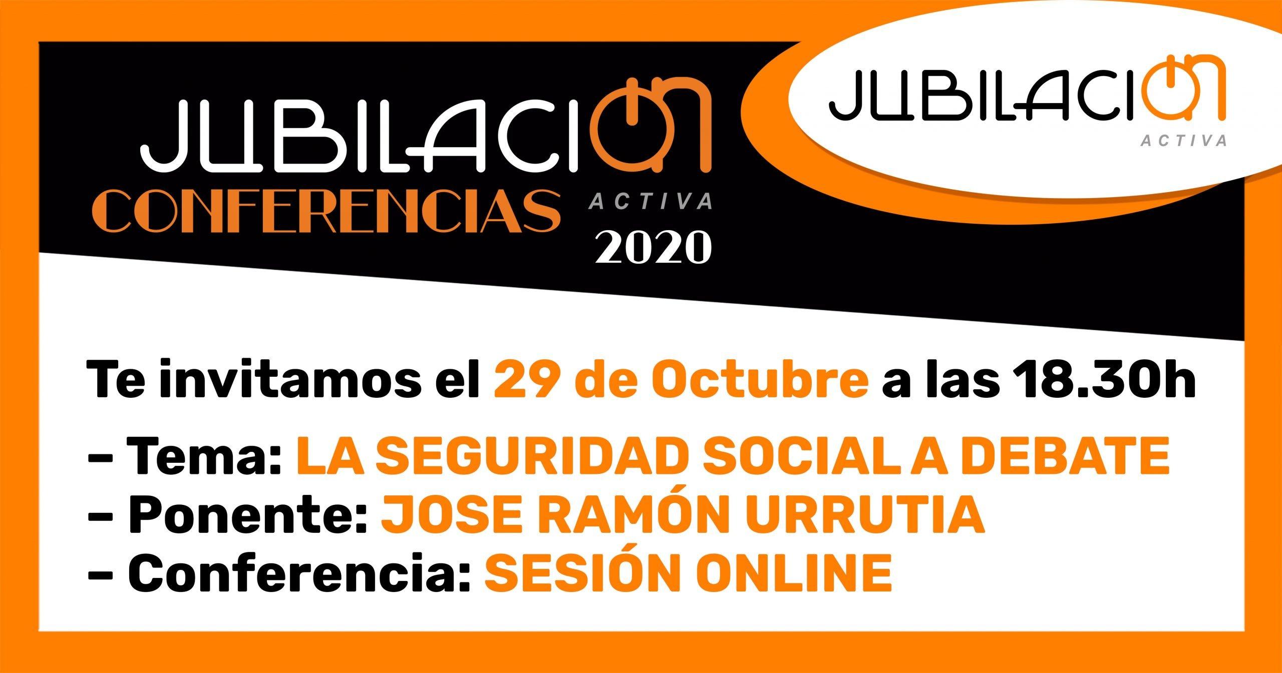 Conferencia Seguridad social al debate img